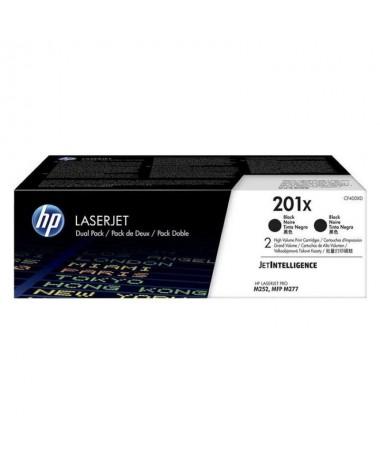 pul liPaquete de 2 cartuchos de toner negro Originales HP LaserJet 201X de alta capacidad li liPor cartucho 2800 paginas li liD
