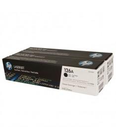 Los suministros de impresion HP 126 LaserJet imprimendocumentos de texto enriquecidos y materiales de marketing Elbrillo de est