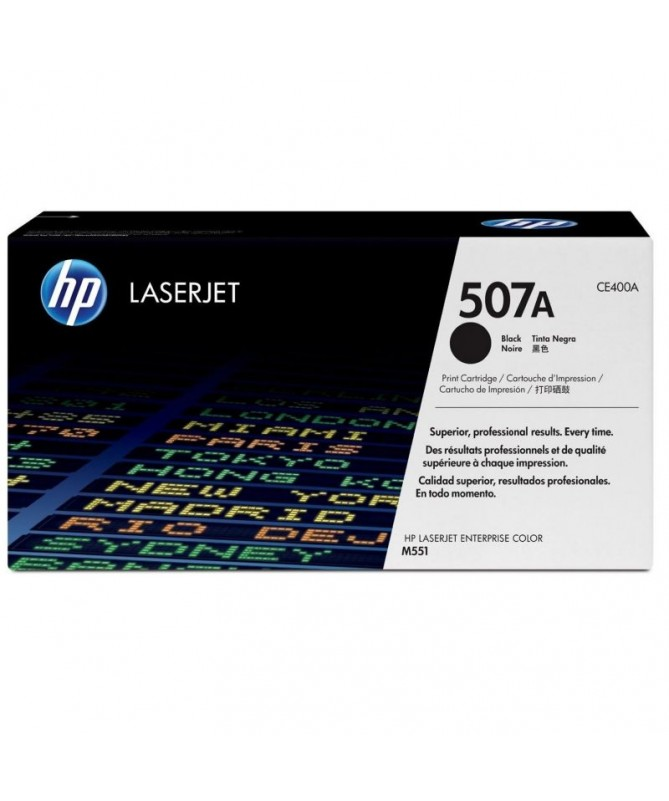 El cartucho de toner negro HP 507A para LaserJet mantiene la productividad empresarial alta Evite las complicaciones y los gast