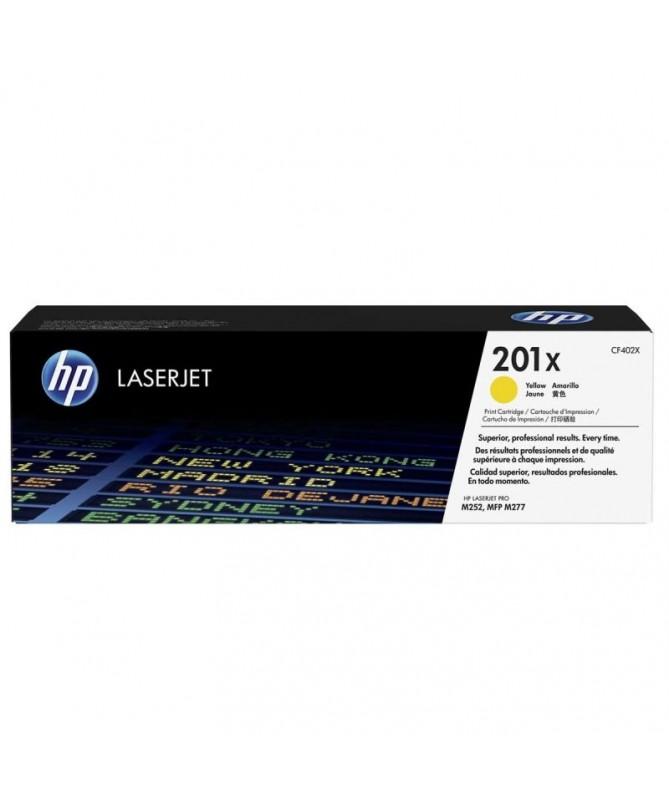 Cartucho de toner original LaserJet HP 201X amarillobrh2brEspecificaciones tecnicasbr h2ULLIEspecificaciones de la impresora LI
