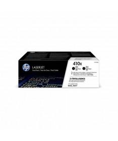 pul liPack de 2 cartuchos de toner HP originales con ref CF410X color negro con un rendimiento de 6500 paginas cada uno li liCo