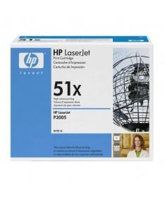 pToner HP de alta capacidad para Laserjet serie P3005 M3027 M3025 hasta 13000 paginas Q7551X p