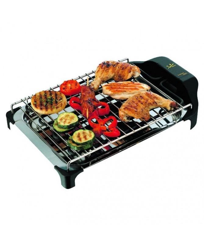pLa electro barbacoa de 2400 W de potencia te permite cocinar sin humos ni olores su parrilla es de dos alturas y su fabricacio