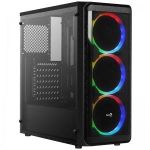 ph2Ventiladores RGB Direccionables h2brLa unidad SI 5200 RGB incluye tres ventiladores RGB direccionables de 12 cm en el panel