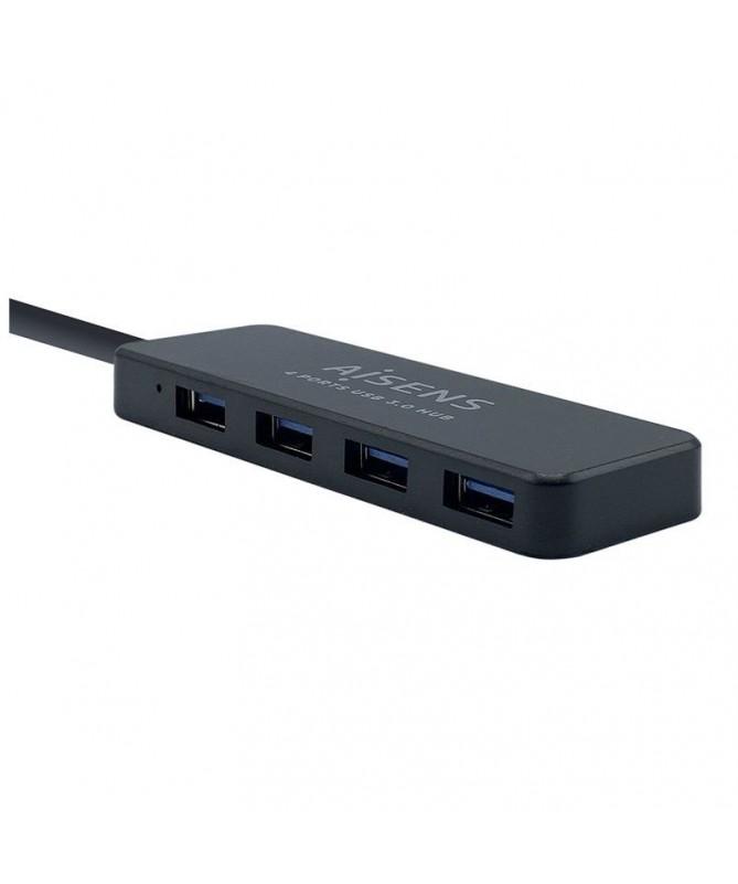 pAISENS HUB USB 30 TIPO A M 4XTIPO A H NEGRO 30CMbrP N A106 0399brEAN 8436574704112brbrul liHub USB 30 4 x USB30 hembra a USB30