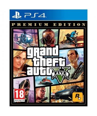 pGrand Theft Auto V Premium Online Edition para PlayStation 4incluye la experiencia completa de la historia de Grand Theft Auto