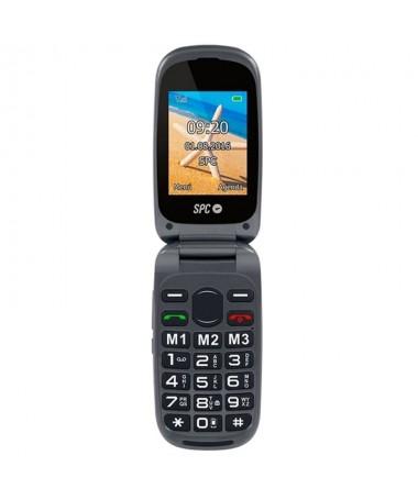 PANTALLAbrResolucion QVGA de 240 x 320 pixels Indicador de senal GSM Estado de la bateria Pantalla fuera en la tapa con identif