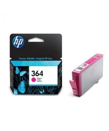 El cartucho de tinta magenta HP 364 imprime fotos con calidad de laboratorio Confie en HP para una impresion de calidad superio