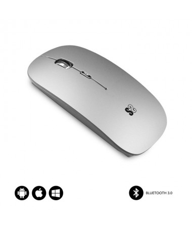 pRaton inalambrico Bluetooth 30 compatible con dispositivos Apple Android y Windows Diseno Slim con solo 2 mm de grosor elegant