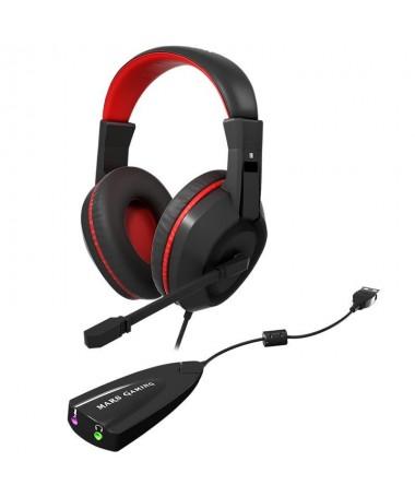 pLos MAH1V2 proporcionan una comodidad sin precedentes y una calidad de sonido ideal para tus partidas gracias a su tecnologia