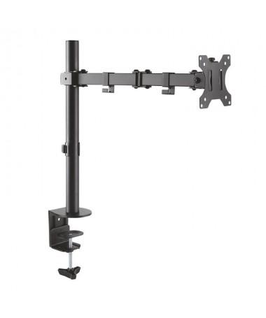 pAISENS 8211 Soporte de mesa eco giratorio e inclinable para monitor TV 3 pivotes 1 brazo de 138221 328221 Fabricado con acero