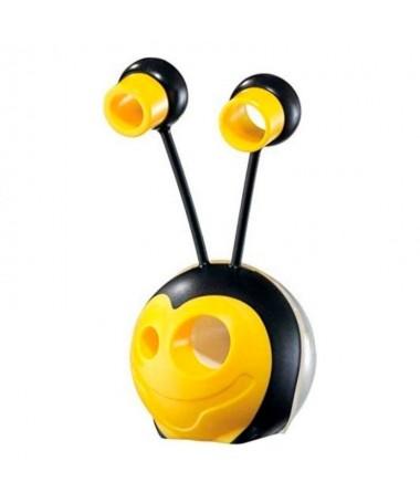 pul liSacapuntas en forma de abeja li li4 diametros diferentes li liDeposito para las virutas li liAdaptador para ajustar el ta