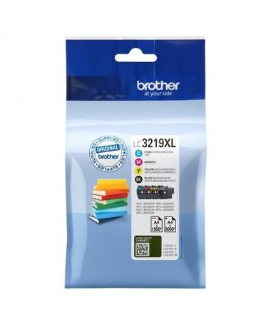 pPack 4 cartuchos de tinta BK CM Y de larga duracion Hasta 3000 pag negro y 1500 pag color ISO IEC 24711brul li3000 pag negro y