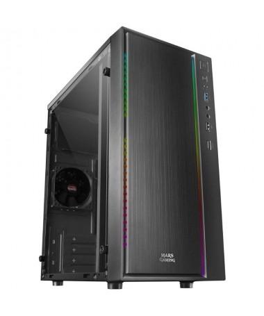 ph2ILUMINACIoN LED RGB CONTROL h2El frontal de la caja MCM destaca por una franja LED RGB en la parte derecha con una potente i