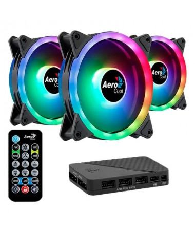 pEl kit DUO12 PRO ofrece 3 ventiladores de 12cm con prestaciones disenadas para optimizar la refrigeracion de tu ordenador a la