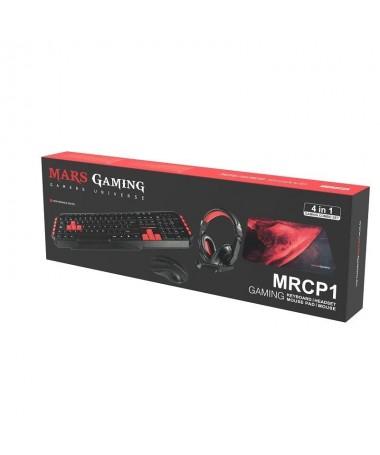 pEste combo de teclado raton alfombrilla y auriculares es el pack ideal para completar un equipamiento gaming El MRCP1 es el se