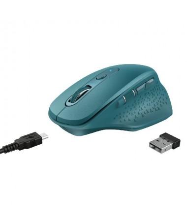 ph2El raton Premium h2El Ozaa de Trust se ha disenado pensando en la comodidad Gracias al diseno ergonomico se puede trabajar