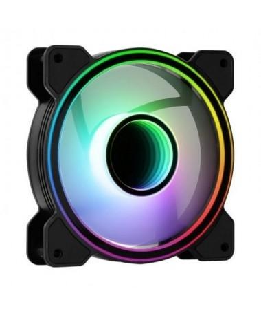 pul liVentilador de 120mm con conector de 6 Pin equipado con un diseno RGB I nfinity Mirror para proporcionar un look hipnotico