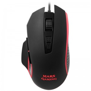 pEl MM018 es un raton gaming RGB ergonomico y preciso con un agarre firme y 8 botones programables para una total libertad de a