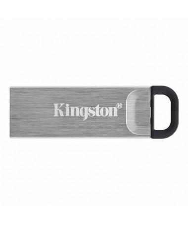 ph2Unidad Flash USB DataTraveler Kyson con elegante carcasa metalica sin capuchon h2DataTraveler Kyson de Kingston es una unida