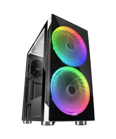 pLa caja MC9 de Mars Gaming te ofrece todas las prestaciones optimas para conseguir un setup gaming de primera clase con una il