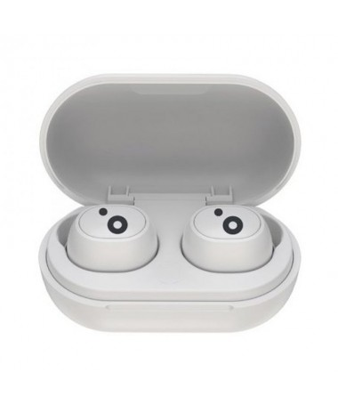 pAuriculares TW BT v50 estereo con microfono incorporado Buena calidad de sonido e incluye un estuche con ajuste magnetico para