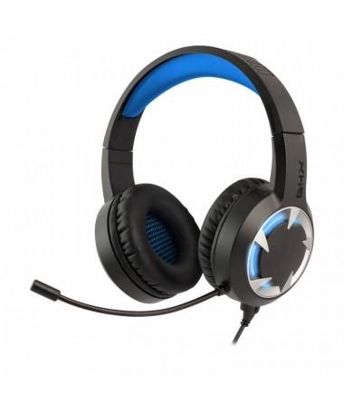 pDisfruta de una inmersion total en tus partidas gracias a su calidad de sonido estereo a traves de sus altavoces de 40mm cuya
