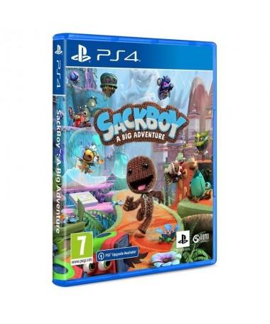 pSackboy uno de los personajes principales de la saga Little Big Planet se embarcara en una arriesgada aventura de plataformas