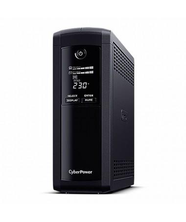 pCyberPower VP1600ELCD ofrece a los usuarios domesticos y de oficina un respaldo de bateria confiable y protege las PC de ofici