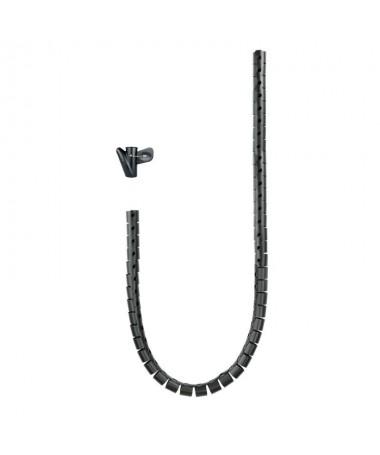 pul libDescripcion detallada b li liOrganizador de cables flexible de 1 metro li liFabricado en plastico de gran flexibilidad y