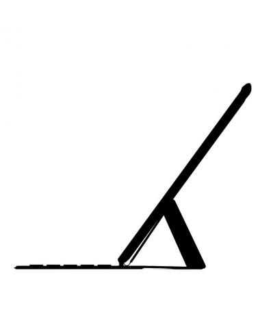 pEl Smart Keyboard Folio para el iPad Pro de 129 pulgadas es un teclado de tamano estandar cuando lo necesitas y una elegante f