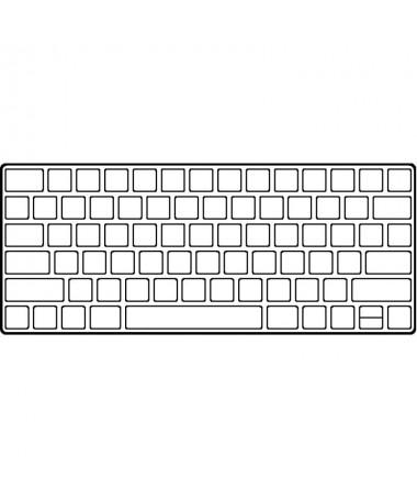 El Apple Magic Keyboard es un teclado con un nuevo diseno elegante bateria recargable y grandes prestaciones Tiene un mecanismo