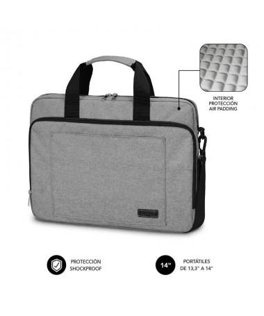pLa proteccion total es una de las principales caracteristicas del maletin para ordenadores portatiles Subblim Air Padding En s