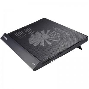 TACENS Supra es la base de refrigeracion versatil yelegante para portatiles de hasta 17 brbrCon sus 3 alturas diferentes selecc
