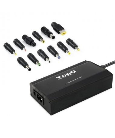 pCargador para portatilbrul liCargador manual universal para portatiles y otros dispositivos con 12 conectores intercambiables