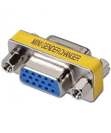pAISENS 8211 Adaptador SVGA HDB15 H HDB15 H para unir dos cables SVGA o para convertir conector HDB15 macho a hembrabrul liAdap