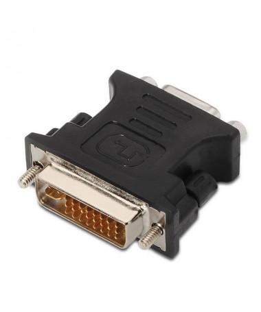 pul liAdaptador DVI a SVGA con conector DVI tipo 245 macho en un extremo y SVGA HDB15 hembra en el otro li liEste adaptador es