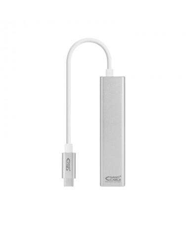 p pdivul liConversor USB C a Ethernet Gigabit con 3 puertos USB 30 con conector USB C macho en un extremo conector RJ45 hembra