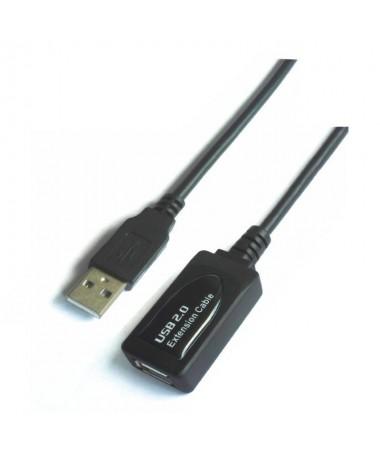 pul liCable prolongador USB 20 con conector tipo A macho en un extremo y tipo A hembra en el otro li liLleva amplificador para