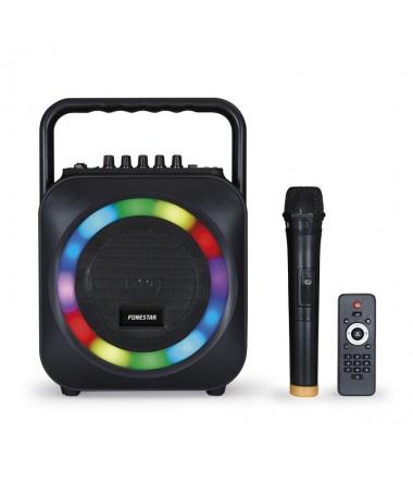 STRONGEspecificaciones tecnicasbr STRONGULLIAltavoz portatil con reproductor Bluetooth USB SD y microfono inalambrico LILIFunci