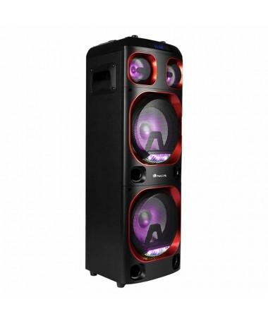 NGS Wild Ska 1 es un potente y portatil equipo musical DJ compatible con la tecnologia Bluetooth y TWS Su diseno moderno 300W d