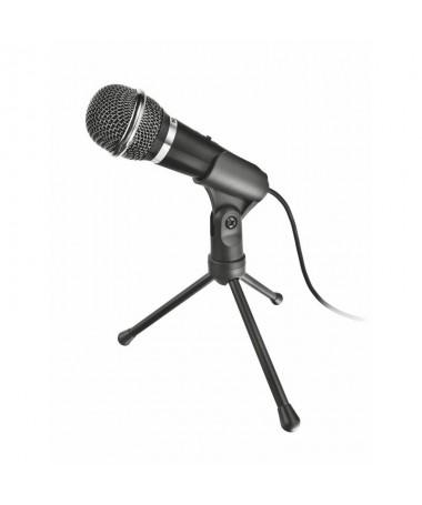 Microfono de alto rendimiento con boton silenciador y tripode que garantiza una reproduccion del sonido extraordinariamente cla