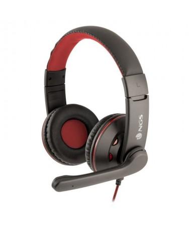 pNGS Vox420 DJ auricular circumaural de gran tamano con control de volumen incorporado en el cable y microfono ajustablebrbrSus