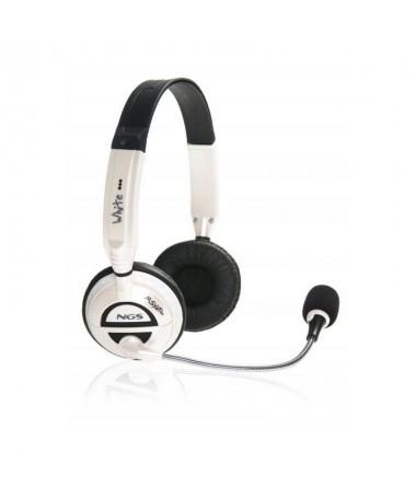 Auricular con microfono de diseno innovador para todo tipo dereproductor estereo especialmente indicado para MP3 CD yvideojuego