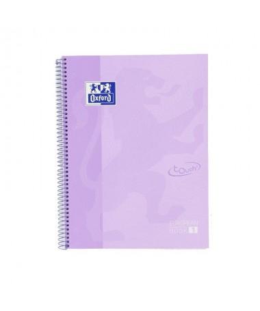 pLibreta Oxford color Malva Pastel pastel A4 con tapa extradura  p