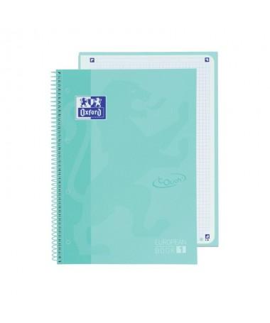 pLibreta Oxford color Ice Mint Pastel pastel A4 con tapa extradura  p