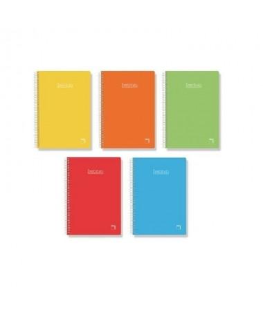 pul liCubierta de carton contracolado de 800g li liImpreso a dos colores y en papel blanco de 60g li liRayado en azul li liEspi