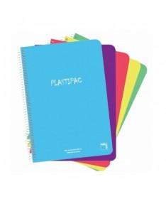 ULLIPack de 5 cuadernos tamano Folio A4 LILICuadernos de 80 hojas LILIPeso de 90 gramos por cuaderno LILIFormato Linea Horizont