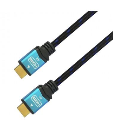 pul liConectores de alta calidad blindados en oro de 24K Multiple apantallamiento para la maxima reduccion de posibles interfer