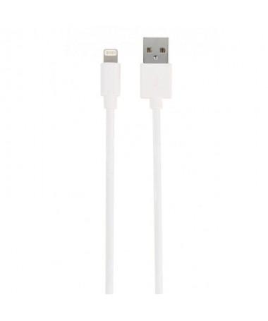 pul liEste cable USB con conector Lightning es adecuado para la transmision de datos y tambien para la carga Tiene certificacio